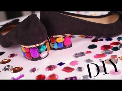 Gemstone Shoes | Designer DIY