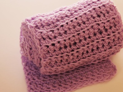 How to crochet a scarf (simple way) - video tutorial with detailed instructions.