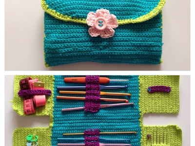 How to crochet hook case