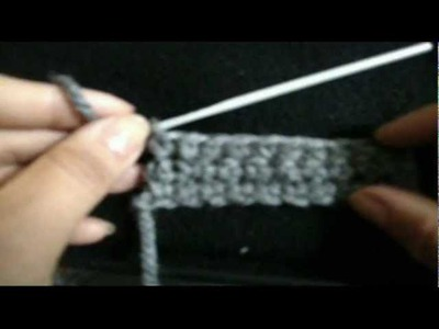 HOW TO CROCHET SINGLE CROCHE STITCH STEP BY STEP (HALF STITCH)