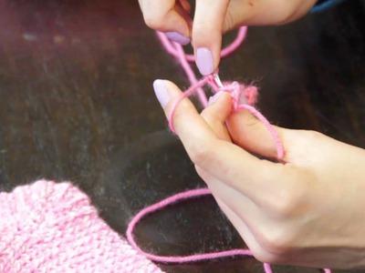How to Crochet Sock Heels : Crochet Stitches & Techniques