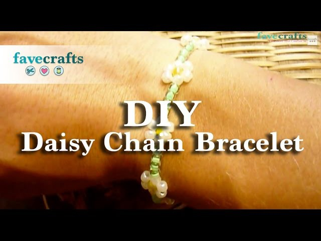 How to Make a Daisy Chain Bracelet