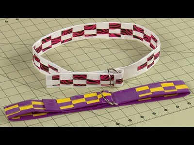 How To Make A Duct Tape Woven Belt