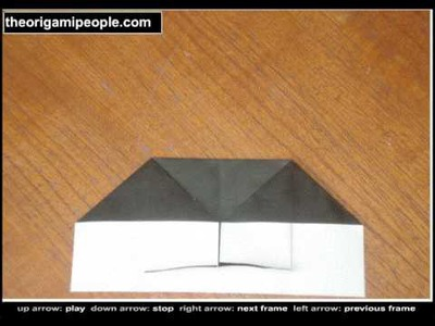 How to make an origami wallet