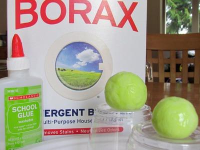 How to make Bouncy Ball Polymer Balls
