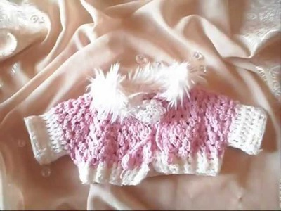 Knit a baby jacket
