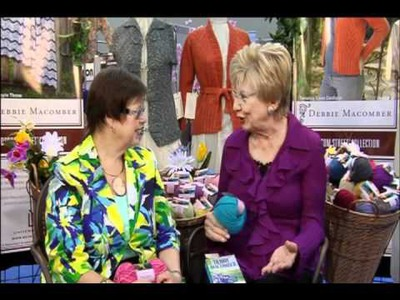 Knitting Daily TV Episode 601's Designer Spotlight with Debbie Macomber, Universal Yarn
