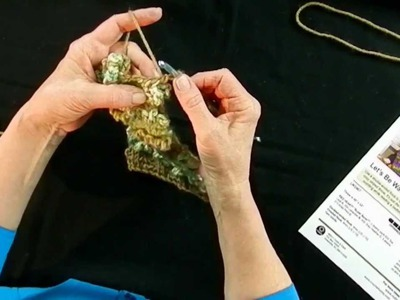 Learn to Crochet Double End Hook and Red Heart - Part 1