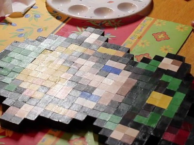 Link Wood Wall Pixel Art - DIY