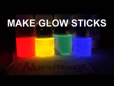 Make Glow Sticks - The Science
