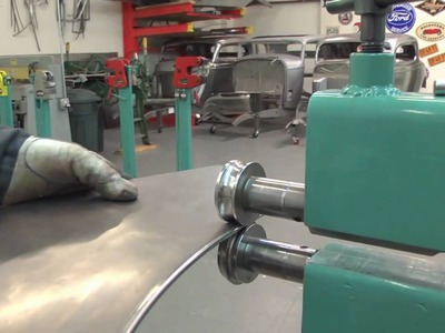 Metal Shaping with Lazze: Rolling a Bead with a Wire Edge