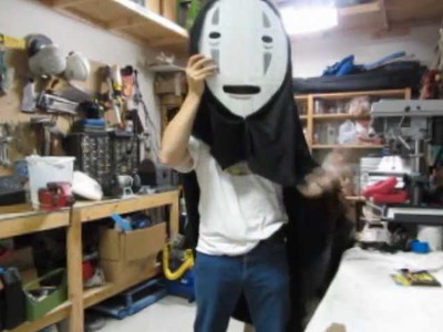 No Face costume (how to make)
