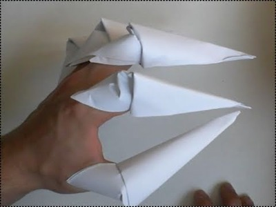 Origami-Anleitung: Krallen