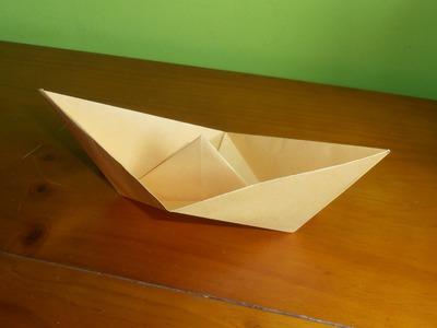 #Origami - Barco fácil
