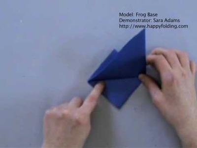 Origami Basics: Frog Base