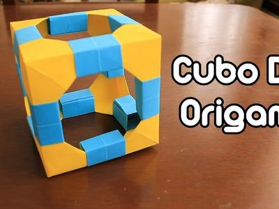 Origami Cube. Cubo De Origami TUTORIAL!