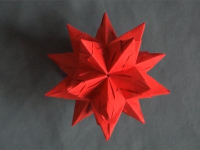 Origami : Etoiles de Noël