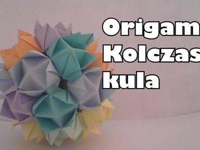 Origami - Kolczasta kula