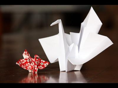 Origami - Kotobukizuru: La Grue Cérémonielle [Senbazuru]