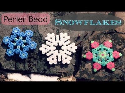 Perler Bead SNOWFLAKE - How To
