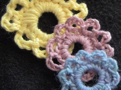 Simple and Pretty Crochet Flower