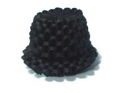 3D origami top hat tutorial