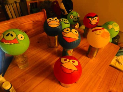 Angry birds DIY birthday projects