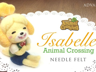 Animal Crossing DLC Felting Tutorial - Nintendo 3DS Collab with NerdECrafter