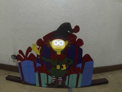 Animated Christmas Elf (DIY)