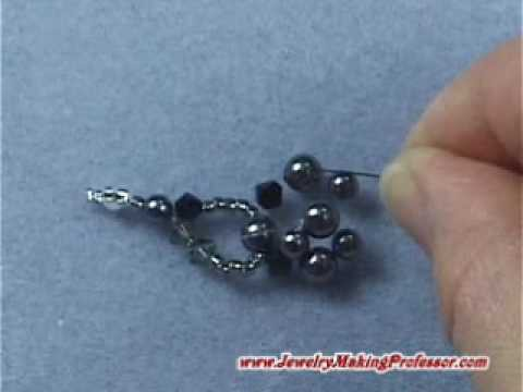 Bead Jewelry Making Video: Crystal Pearl Choker