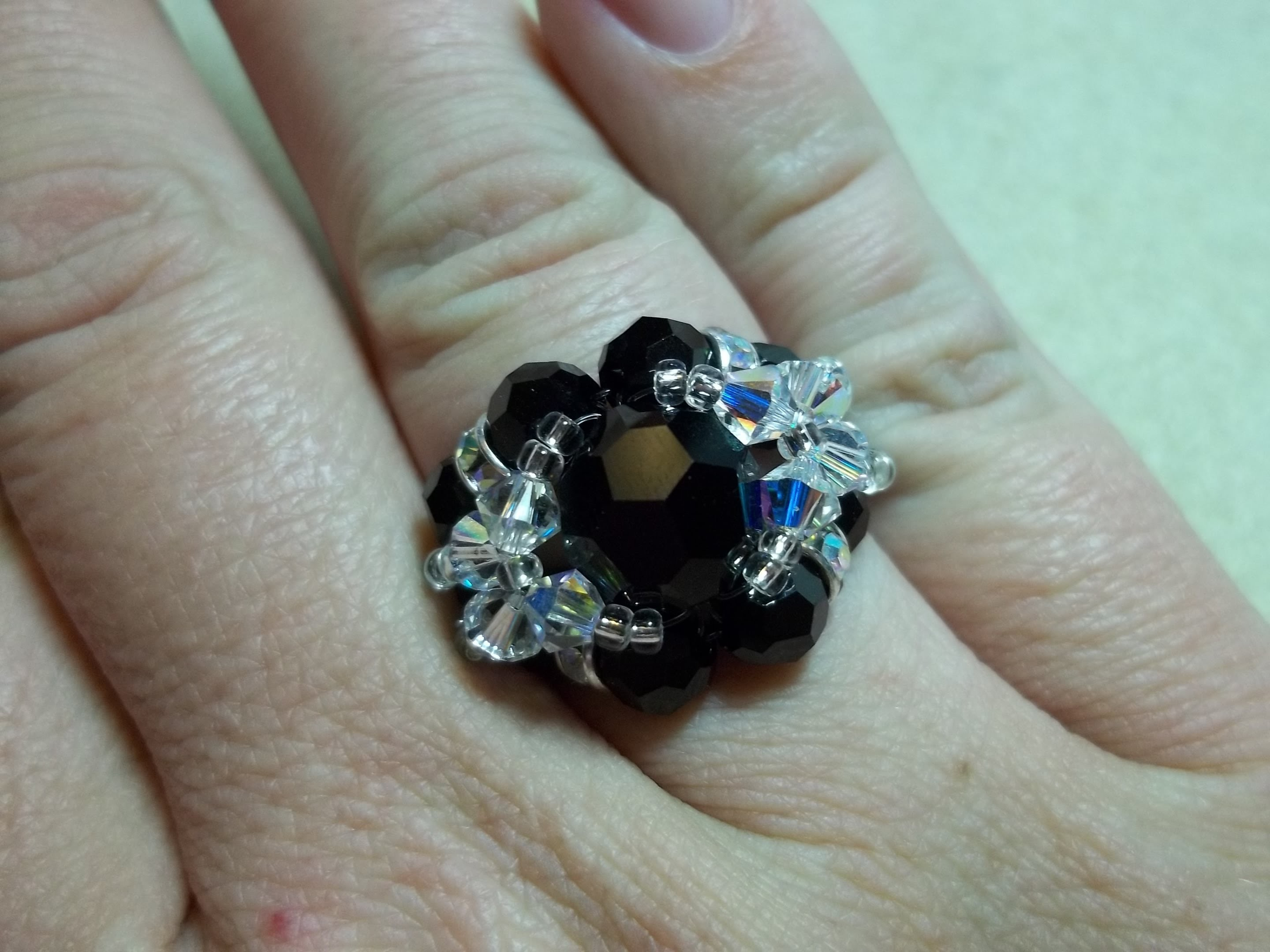 Bling Ball Ring