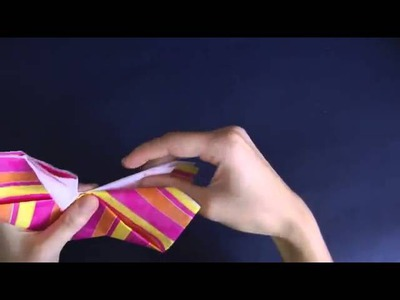 Cara membuat Origami Kupu Kupu Yang Cantik , Indah Dan Mudah