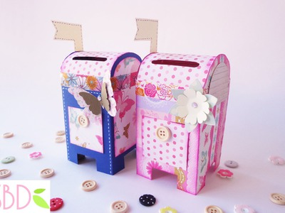 Cassetta delle lettere salvadanaio tutorial - Money saver Mailbox diy