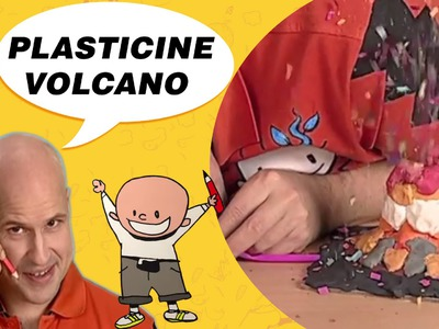 Crafts Ideas for Kids - Plasticine Volcano | DIY on BoxYourSelf