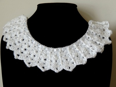 Crochet : Borde Cuello # 1