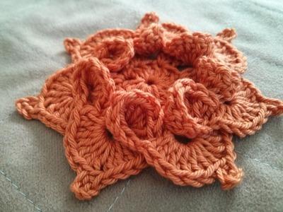 Crochet flower 16