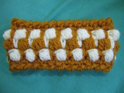 Crocheted Bangle Tutorial - Left Handed version - Crochet Tutorial