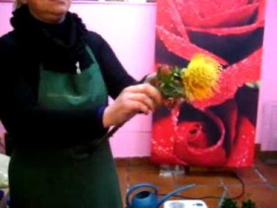 Curso de arte floral Fernanda Penides - Ramo de orquideas