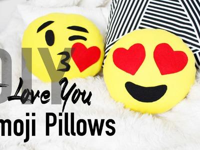 DIY Cute & Easy Heart Emoji Pillows | ANNEORSHINE
