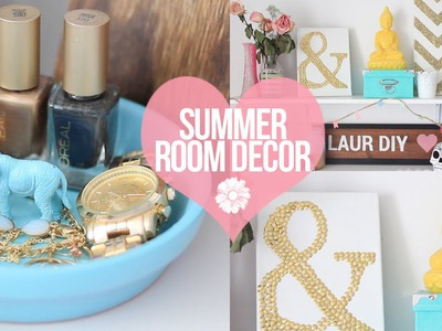 DIY: Easy Summer Room Decor | LaurDIY