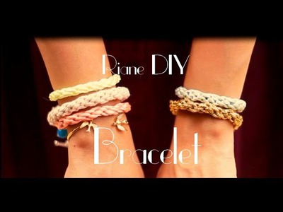 DIY : Friendship Bracelet. arm candy
