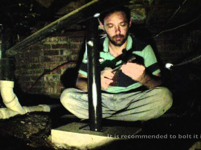 DIY Home Foundation Repair - Floor Jack in a crawl space