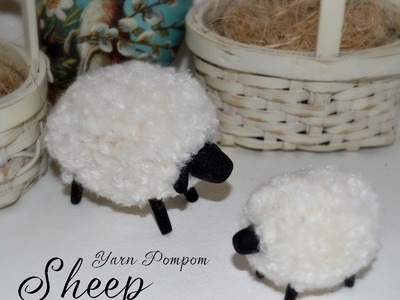 DIY - HOW to make a sheep