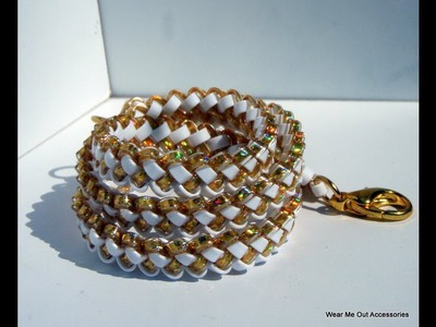 DIY: Lattice Berry Bracelet Tutorial