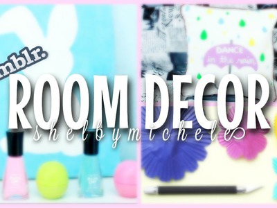 DIY Spring Room Decor: Tumblr Inspired !
