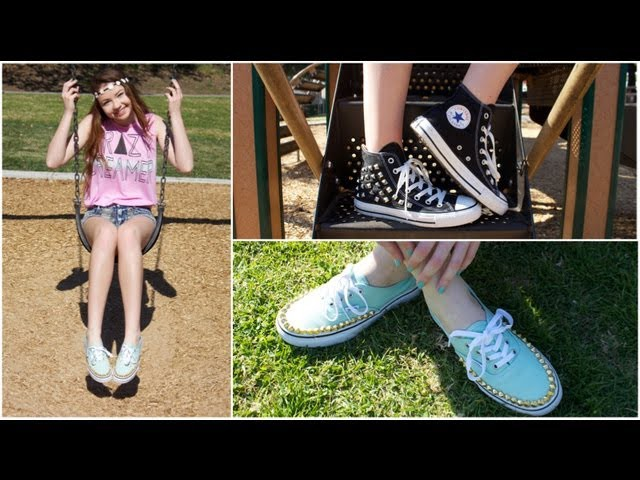 DIY: Studded Shoes!