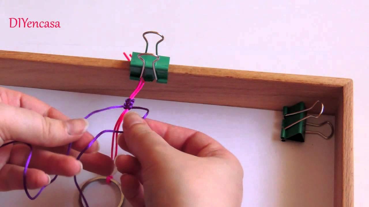 Diy tutorial como hacer un mu eco de macrame macrame doll - Como hacer un muneco ...