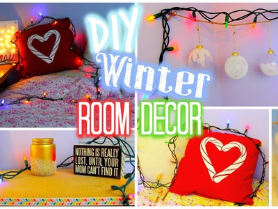 DIY Winter. Holiday Room Decor (Collab with Hayley Williams)