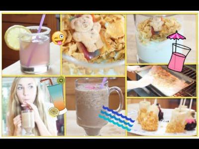 ☼ DIY Yummy Summer Snacks ☼ healthy-ISH