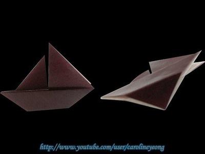 【CYS教程】折纸~帆船の一(Origami~Yacht)